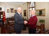Başkan Yılmaz'a kardeş şehir Bişkek'ten misafir