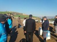 Alaşehir'de mezarlıklara yenileme çalışması