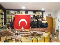 Marmaris'ten Zeytin Dalı Harekatına katılan Mehmetçiğe bal gönderildir