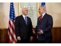 Mike Pence, İsrail Başakanı Netanyahu ile görüştü
