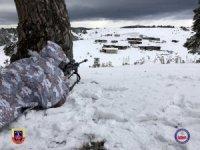 Jandarma komandolar zorlu kış şartlarında operasyonda