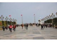 Samsun'da bugün yalancı bahar, Çarşamba kar yağışı
