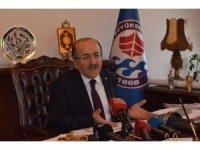 Başkan Gümrükçüoğlu yıkımı süren Hüseyin Avni Aker Stadyumu'nun yerine yapılacak projeyle ilgili konuştu