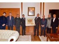 Başkan İnce Vali Kaban'a esnafların sorunlarını anlatarak destek istedi