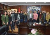 BEÜ'lü öğrencilerden Başkan Demirtaş'a teşekkür ziyareti