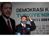 """TBMM Başkanvekili Aydın: """"Terörün sonunu getirene kadar oradayız"""""""