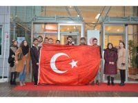 Üniversite öğrencilerinden Afrin Harekâtı'na destek
