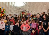 Başkan Kafaoğlu çocukların mutluluğuna ortak oldu