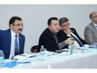 Başkan Bakıcı'nın istişare ve değerlendirme toplantısı