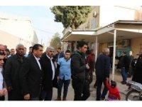 Suriye sınırında PYD'lilerin taciz atışları