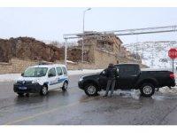 Erciyes'te ulaşıma tipi engeli