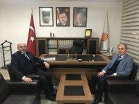 Milletvekili Vural Kavuncu'dan Başkan Çetinbaş'a tebrik ziyareti