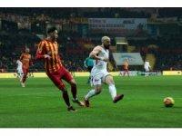 Süper Lig: Kayserispor: 0 - Galatasaray: 2 (İlk yarı)