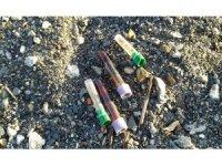 Sahile vuran tıbbi atıklar halkı endişelendirdi
