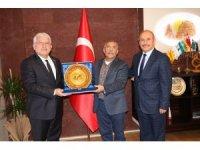Nevşehir PTT Başmüdürü Ersoy'dan, Başkan Karaaslan'a ziyaret