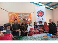 Marawi'de kurulan merkez mutfak hizmete girdi
