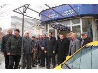 Çorumlu taksiciler meslektaşlarına yapılan saldırıyı kınadı