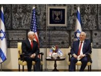 Pence, İsrail Cumhurbaşkanı Rivlin ile bir araya geldi