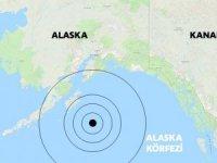 Alaska'da büyük deprem!