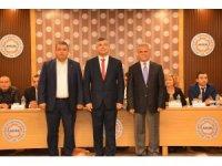 Antalya Fotoğrafçılar Kırtasiyeciler ve Kitapçılar Esnaf Odası Başkanı Mehmet Bayrak  Güven Tazeledi