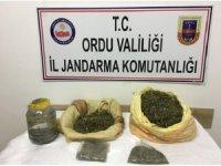 Ordu'da uyuşturucu imal eden 1 kişi yakalandı