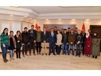 Başkan Atilla öğrencilerle bir araya geldi