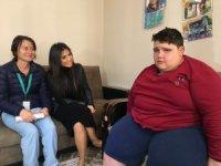 Sağlık Bakanlığı 185 kilo olan çocuk için devrede