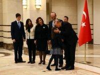 Cumhurbaşkanı Erdoğan, Lübnan Büyükelçisini kabul etti