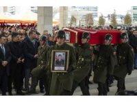 Afrin operasyonunun ilk şehidi Musa Özalkan'ı son yolculuğuna devletin zirvesi uğurladı