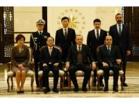 Cumhurbaşkanı Erdoğan, Güney Kore Büyükelçisini kabul etti