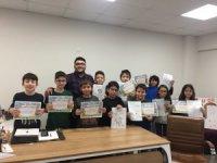 Serdivan Çocuk Akademisi'nde Karikatür'ün incelikleri öğretiliyor