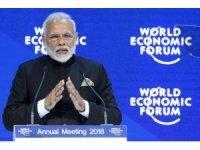 """Hindistan Başbakanı Modi: """"Hindistan 27 yılda 6 kat büyüdü"""""""
