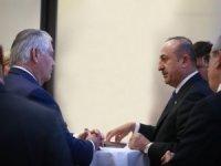 Bakan Çavuşoğlu, ABD'li mevkidaşı Tillerson ile bir araya geldi