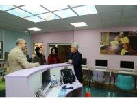 Başkan Başsoy'dan Binali Yıldırım Kız Anadolu İmam Hatip Lisesi'ne Ziyaret