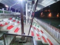 Simav ilçe stadına kamera ve aydınlatma sistemi