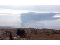 Zeytin Dalı Harekatı'nın 5. gününde havadan ve karadan bombardıman sürüyor