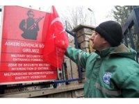 Elazığlı işçiler Afrin için gönüllü askerlik başvurusu yaptı