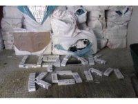 Uşak'ta 39 bin paket kaçak sigara ele geçirildi