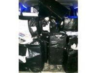 Midyat'ta bin 30 paket kaçak sigara ele geçirildi