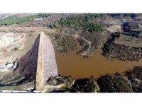 İlyasçılar Göleti su tutmaya başladı