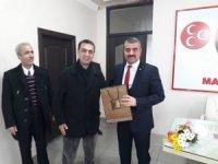 Taşeron işçilerden Avşar'a teşekkür ziyareti