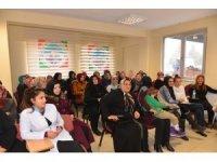 Mel-Mek kursiyerlerine evlilik öncesi eğitim semineri verildi