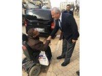 AK Parti Mardin İl Başkanı Engelli vatandaşın yanına gitti