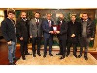 Fırtına Trabzonsporlular Başkan Köşker'i ziyaret etti