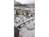 İstanbul'da kar yağışı hızlandı