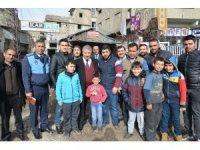 Başkan Pınarbaşı esnaf vatandaş ve muhtarlarla buluştu