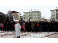 Kaman İlçesinde Afrin'de görev yapan Mehmetçik için Fetih duası yapıldı