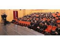 Aksaray'da okul servis sürücülerine eğitim semineri