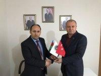 Asimder Başkanı Gülbey, MHP İl Başkanı İçer'i ziyaret etti
