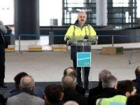 Bakan Arslan: İstanbul Yeni Havalimanı'nın yüzde 80'i tamamlandı